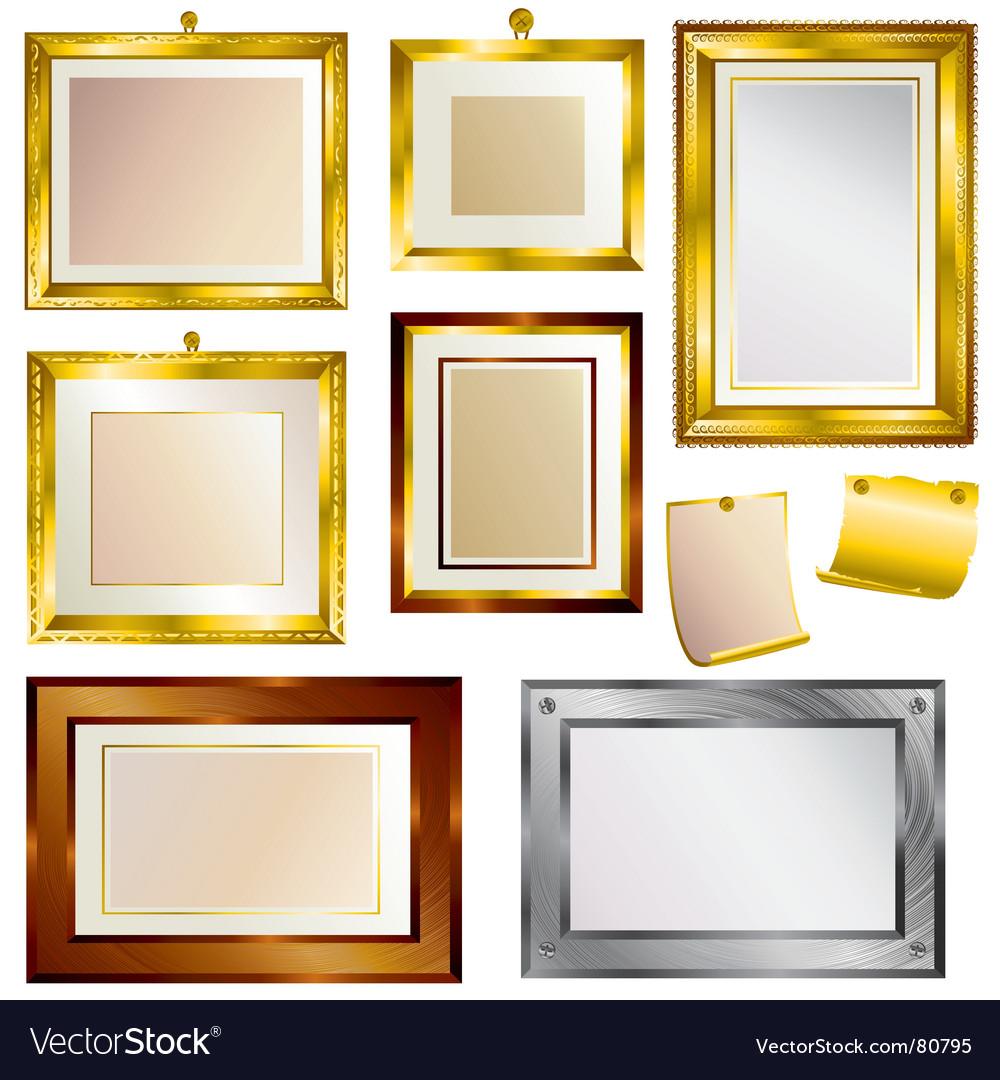 Beautiful frames vector image