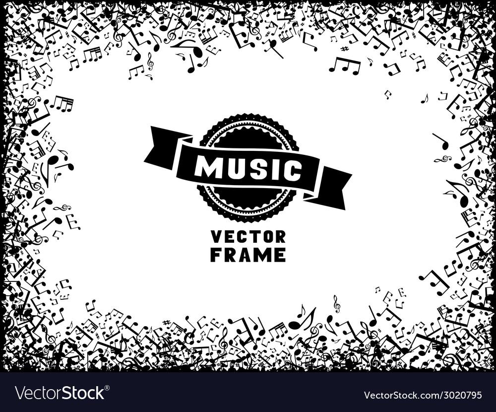Modern Music Frame Motif - Frame Photo Design Ideas ...