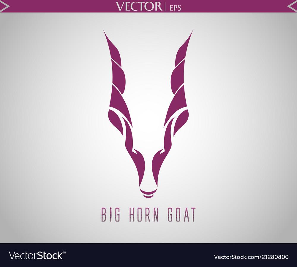 Big horn goat logo