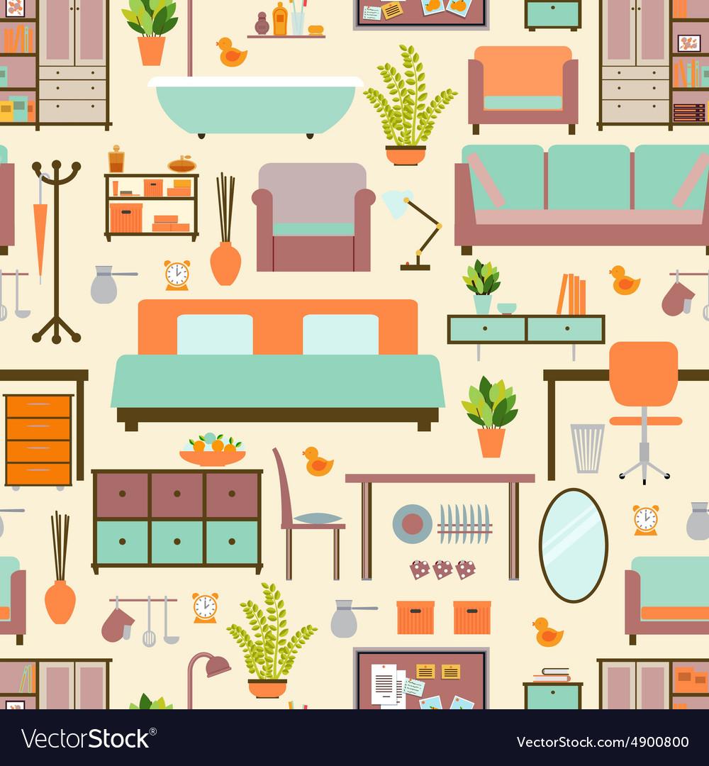 House furniture pattern