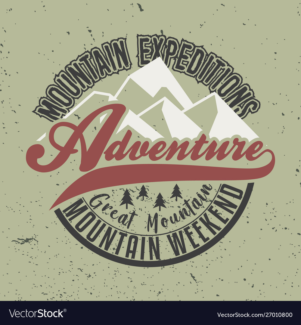 Mountain expeditions adventure great mountain