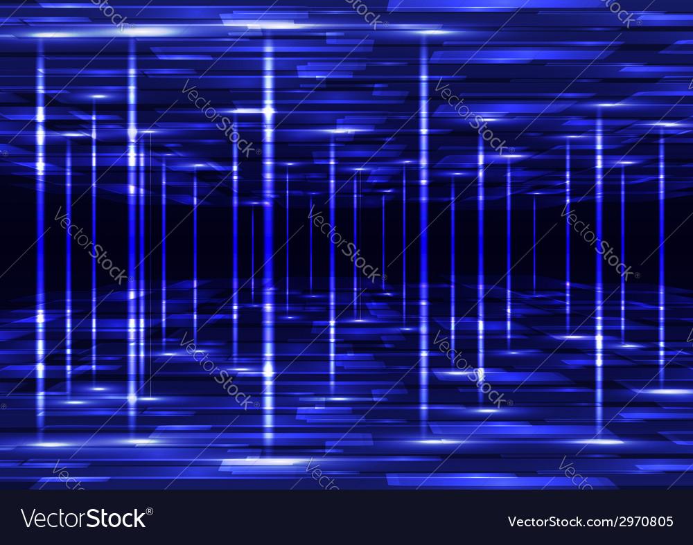 Abstract virtual technology vector image