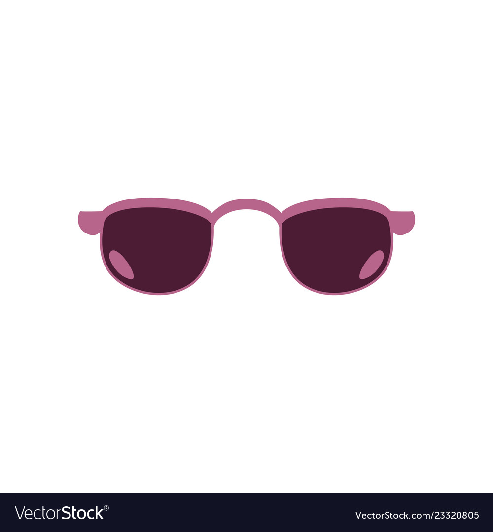 051ab409d52 Retro sunglasses photo booth props icon Royalty Free Vector