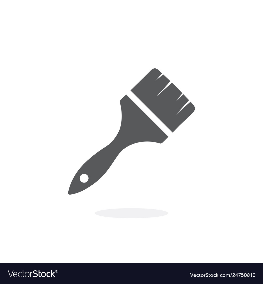 Brush paint icon