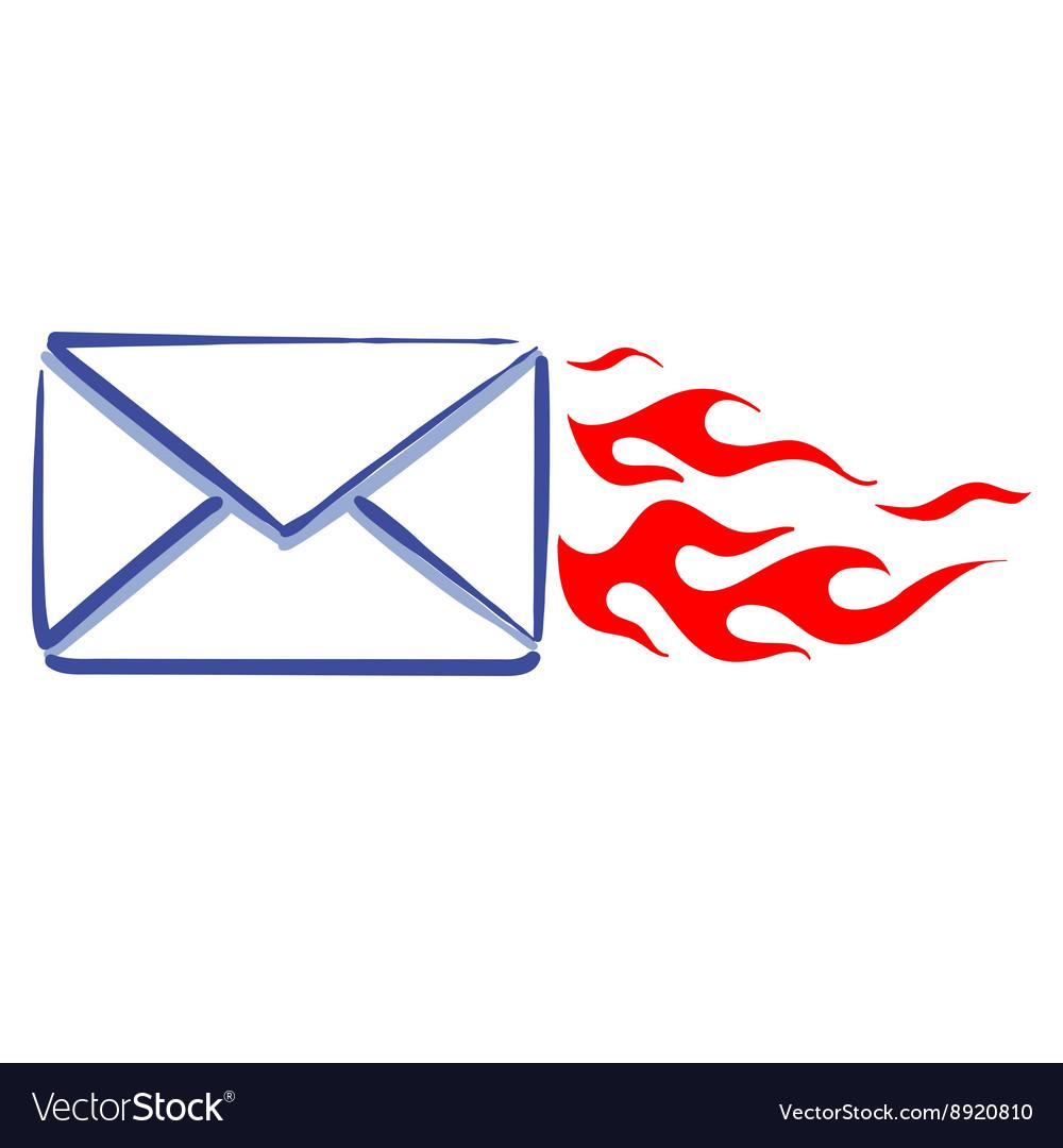 Express mail message