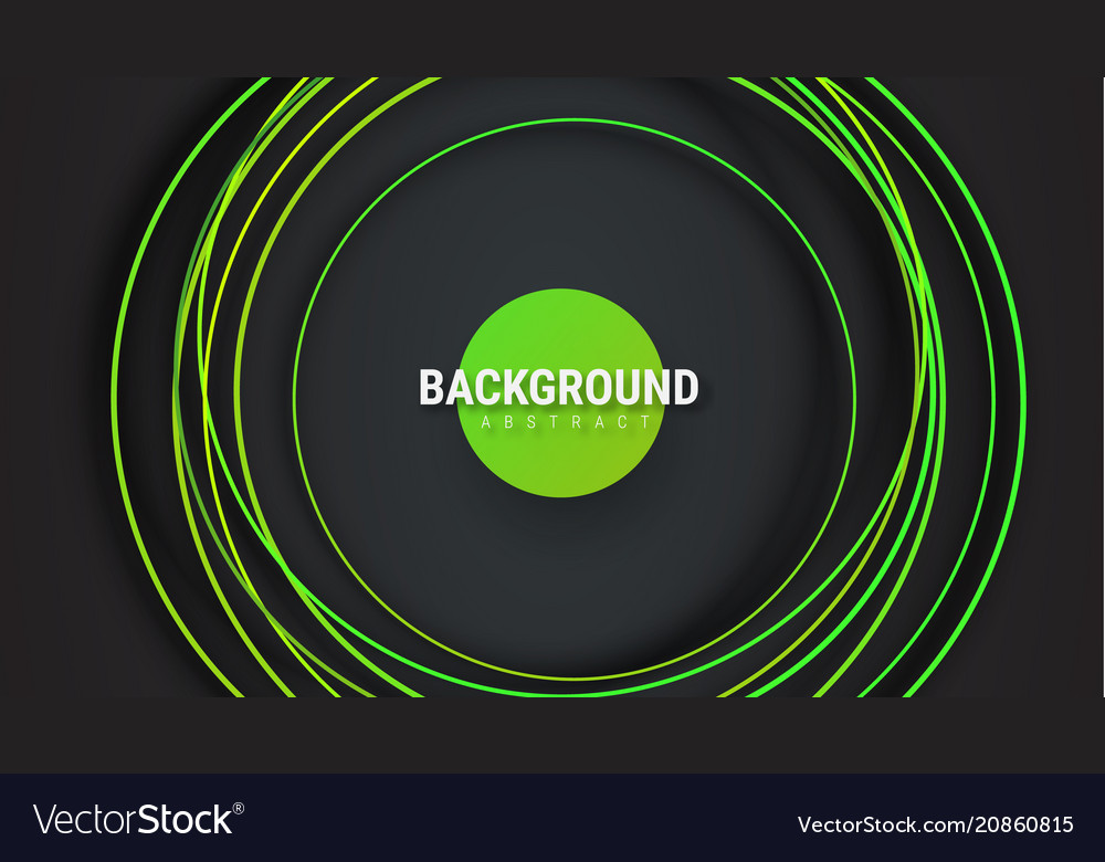 Design a black background with intersecting vector image