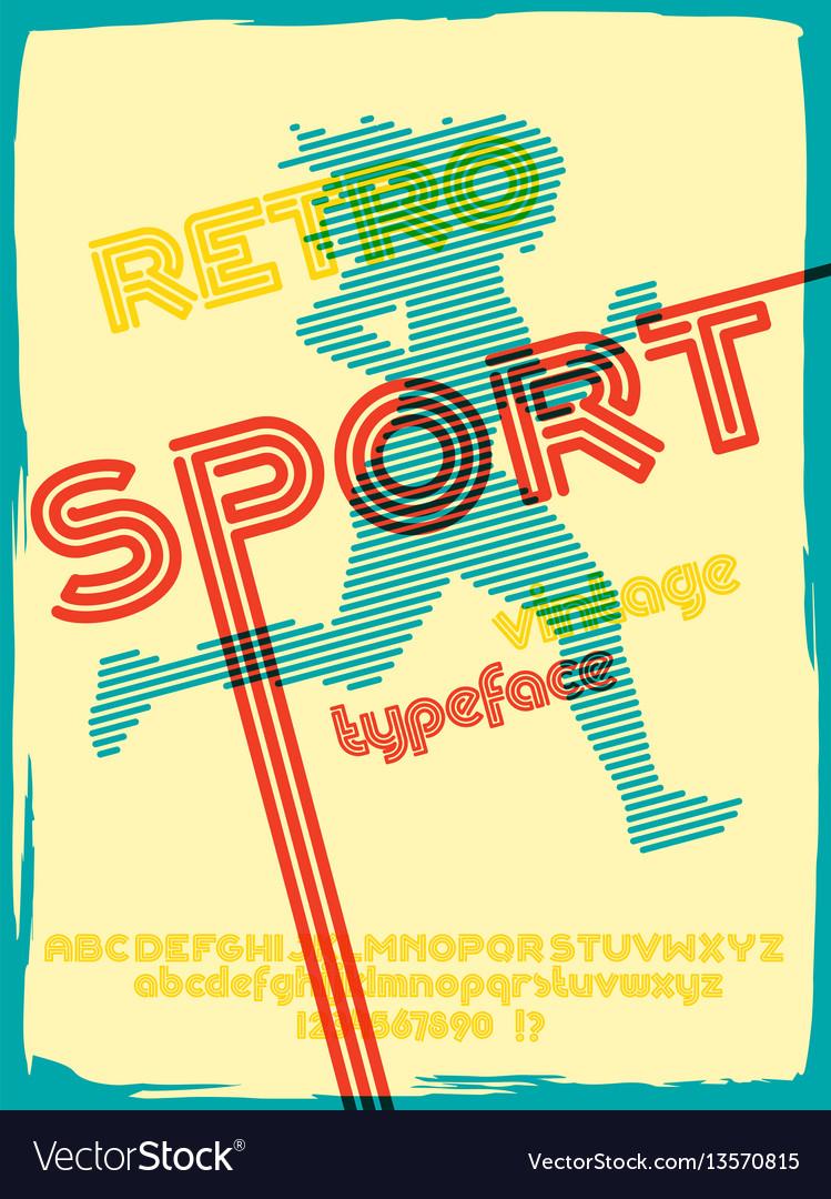Sport 76 font