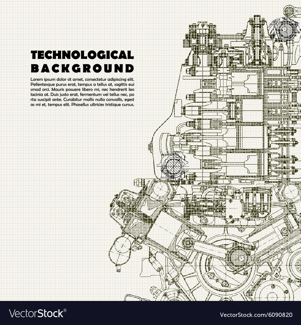 Background drawing engine