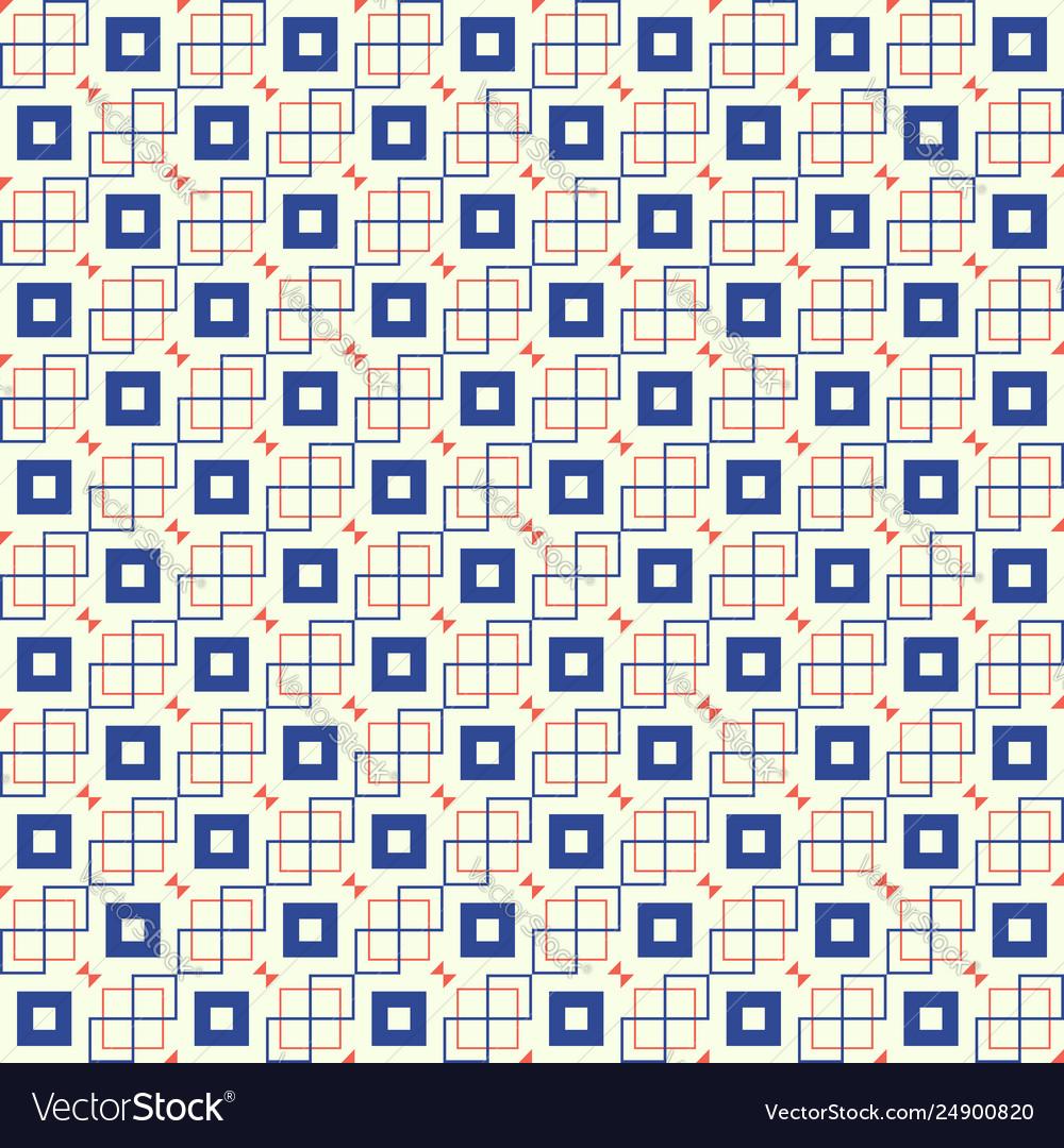 Square seamless pattern eps 10