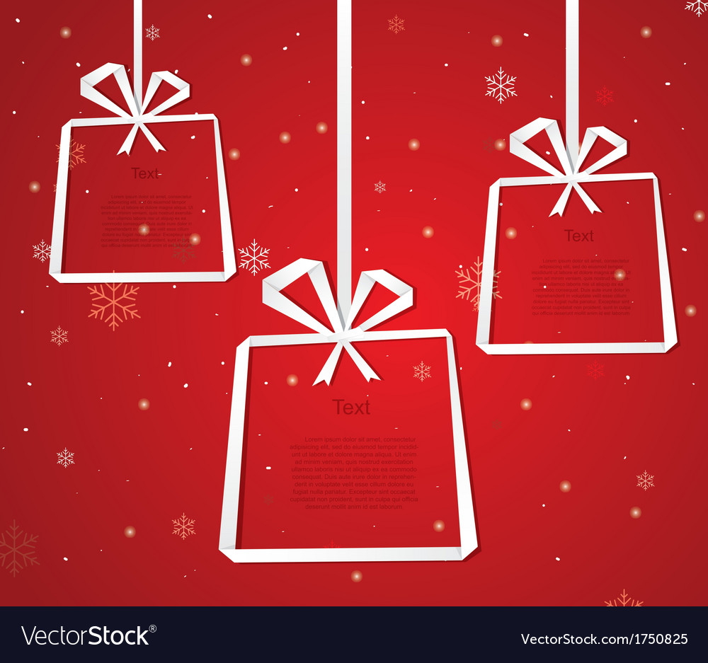 Gift box Infographic vector image