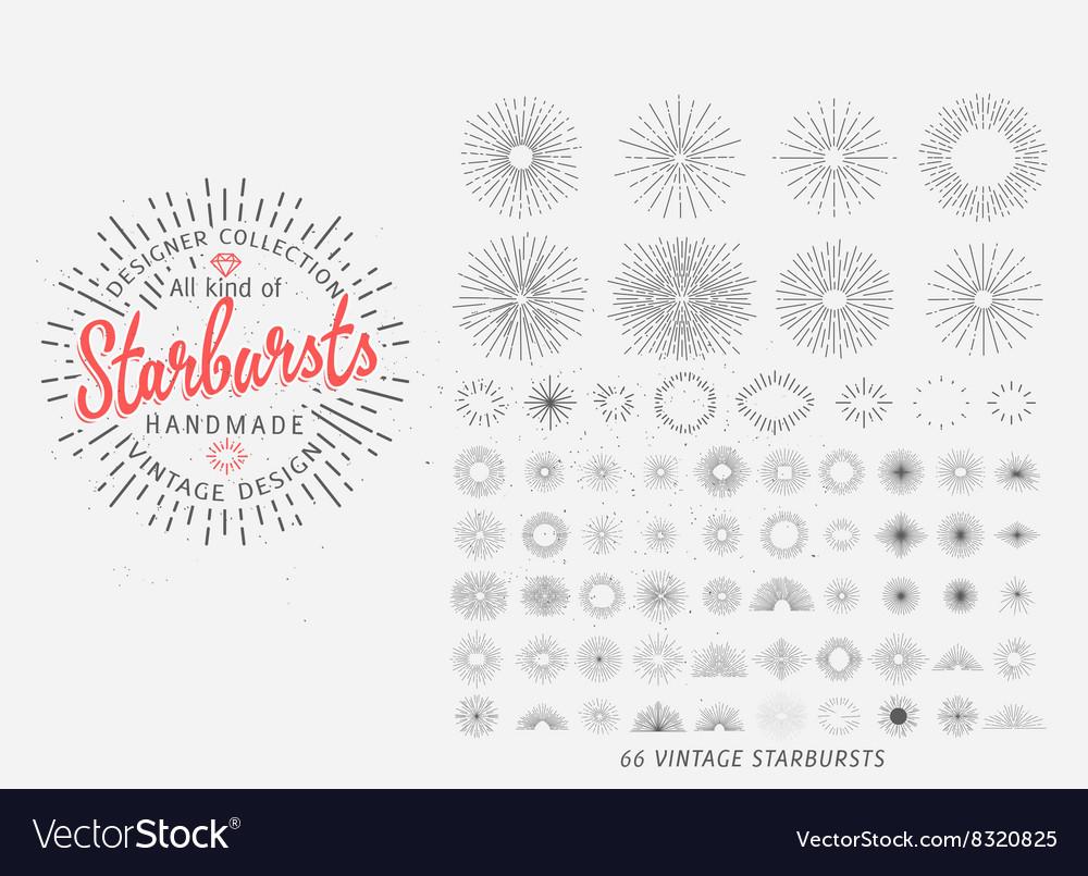 Sunburst design elements