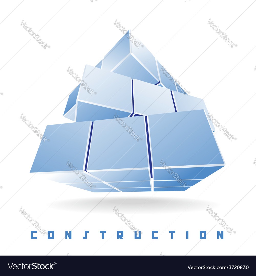 Construction cube