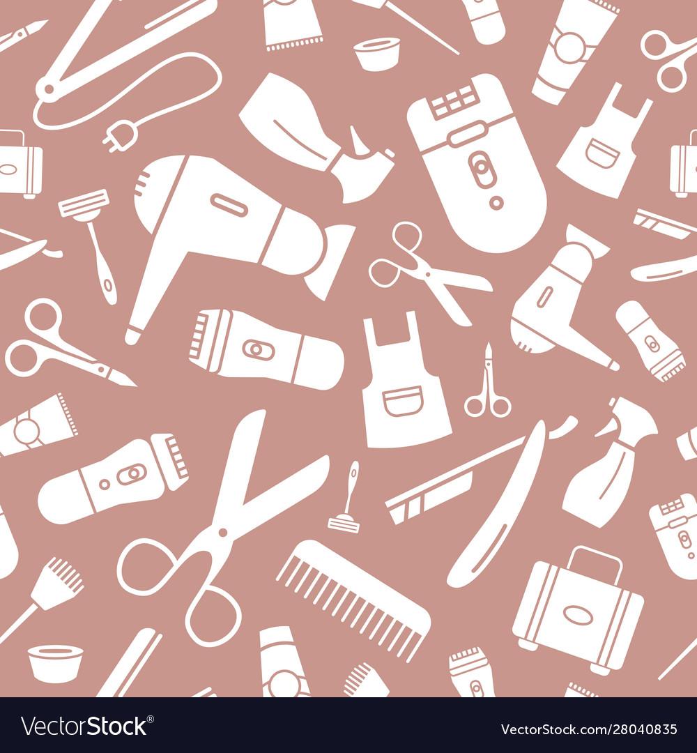 hair salon background 03 royalty free vector image  vectorstock