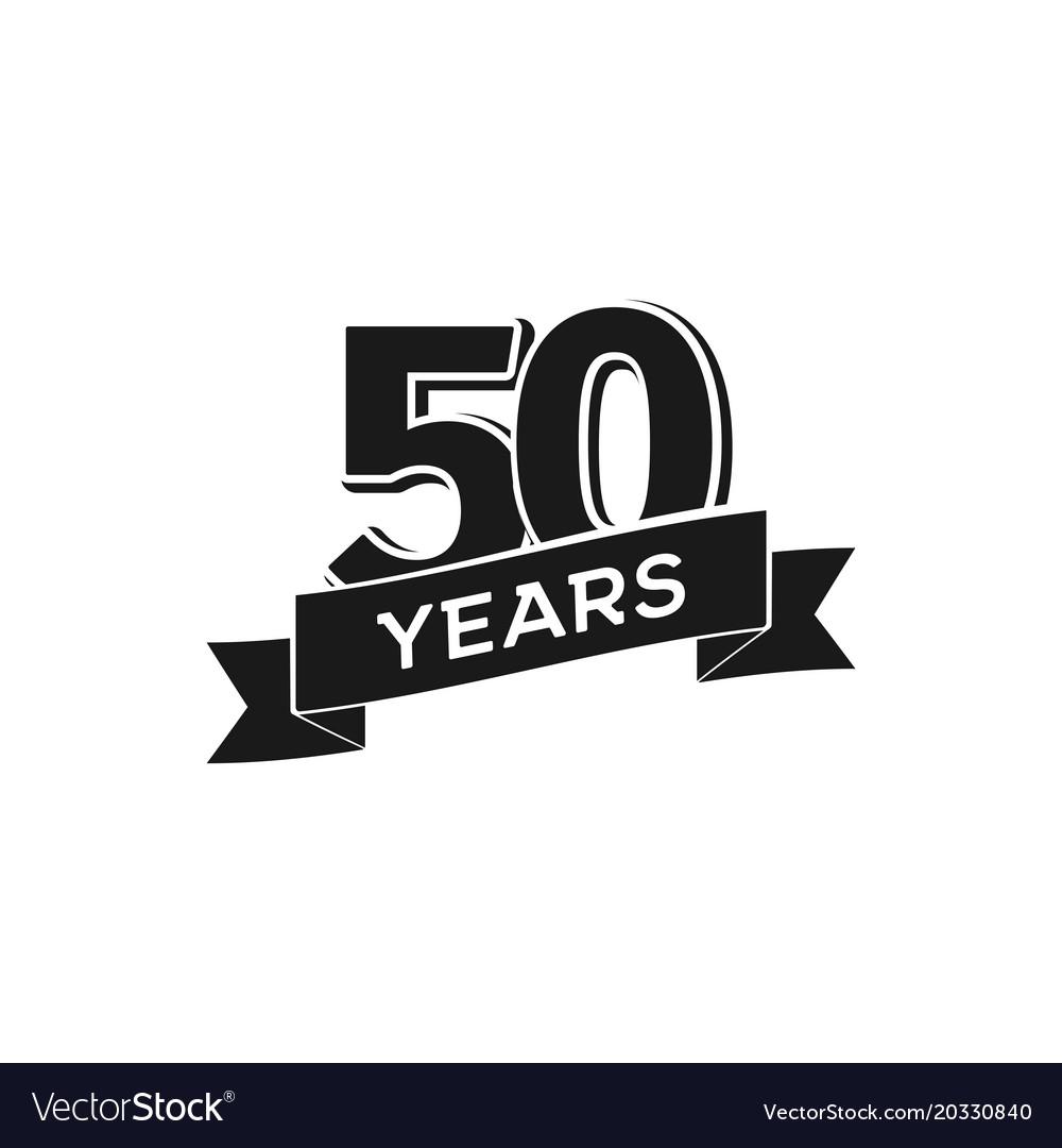 Years anniversary logotype isolated