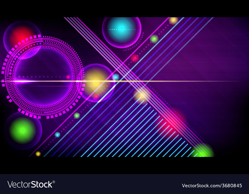 Abstract technology-style background
