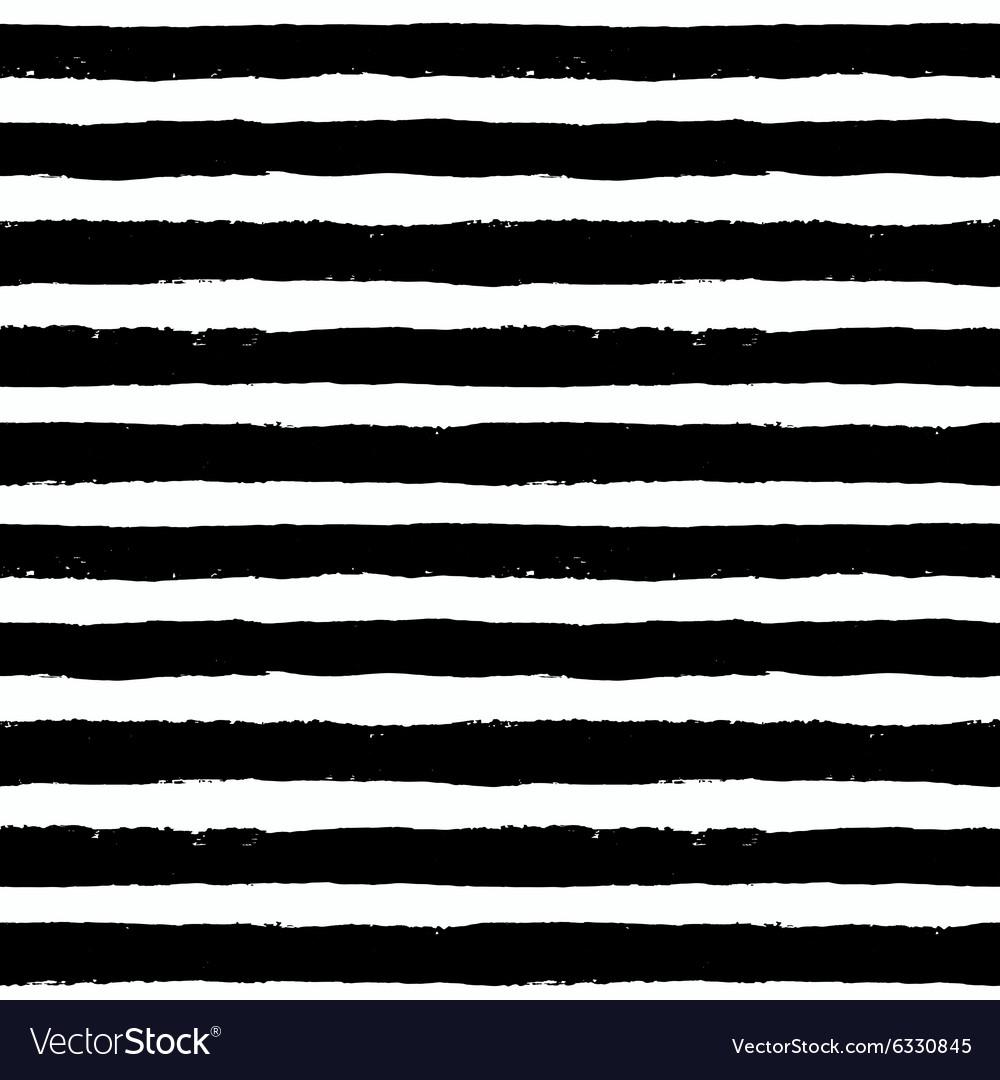 Brush Strokes Black White Pattern