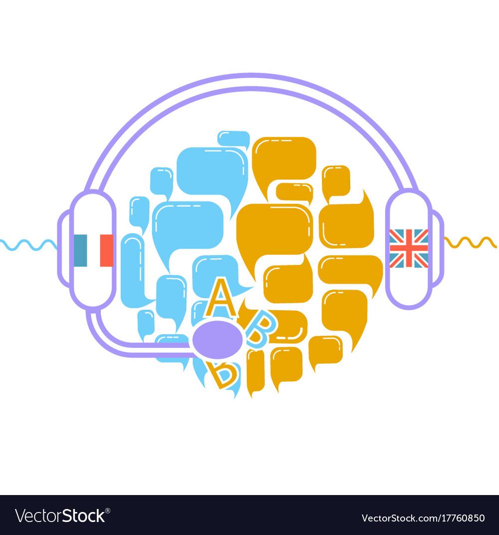 Concept of translation headphones
