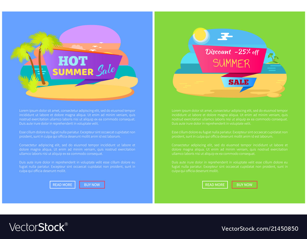 Hot summer sale discount off set of posters online