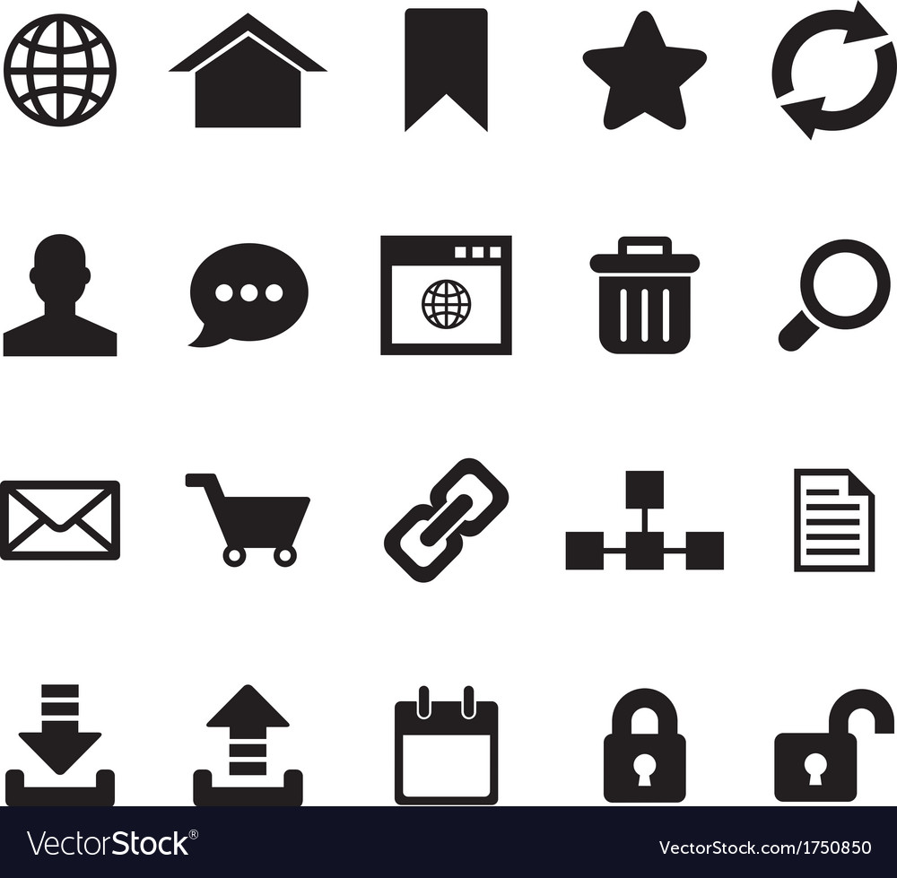internet icon royalty free vector image vectorstock