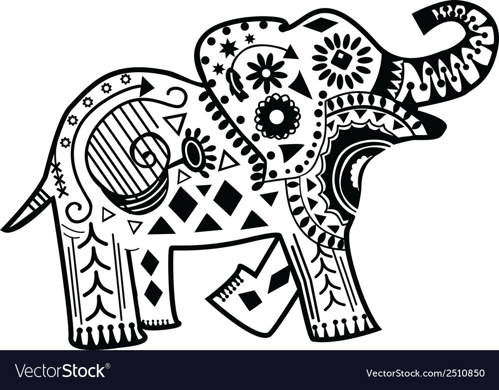 Mandala Elephant Coloring Pages 2464291