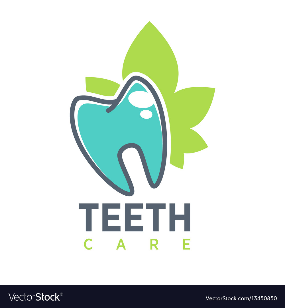 Tooth logo template for dentistry or dental