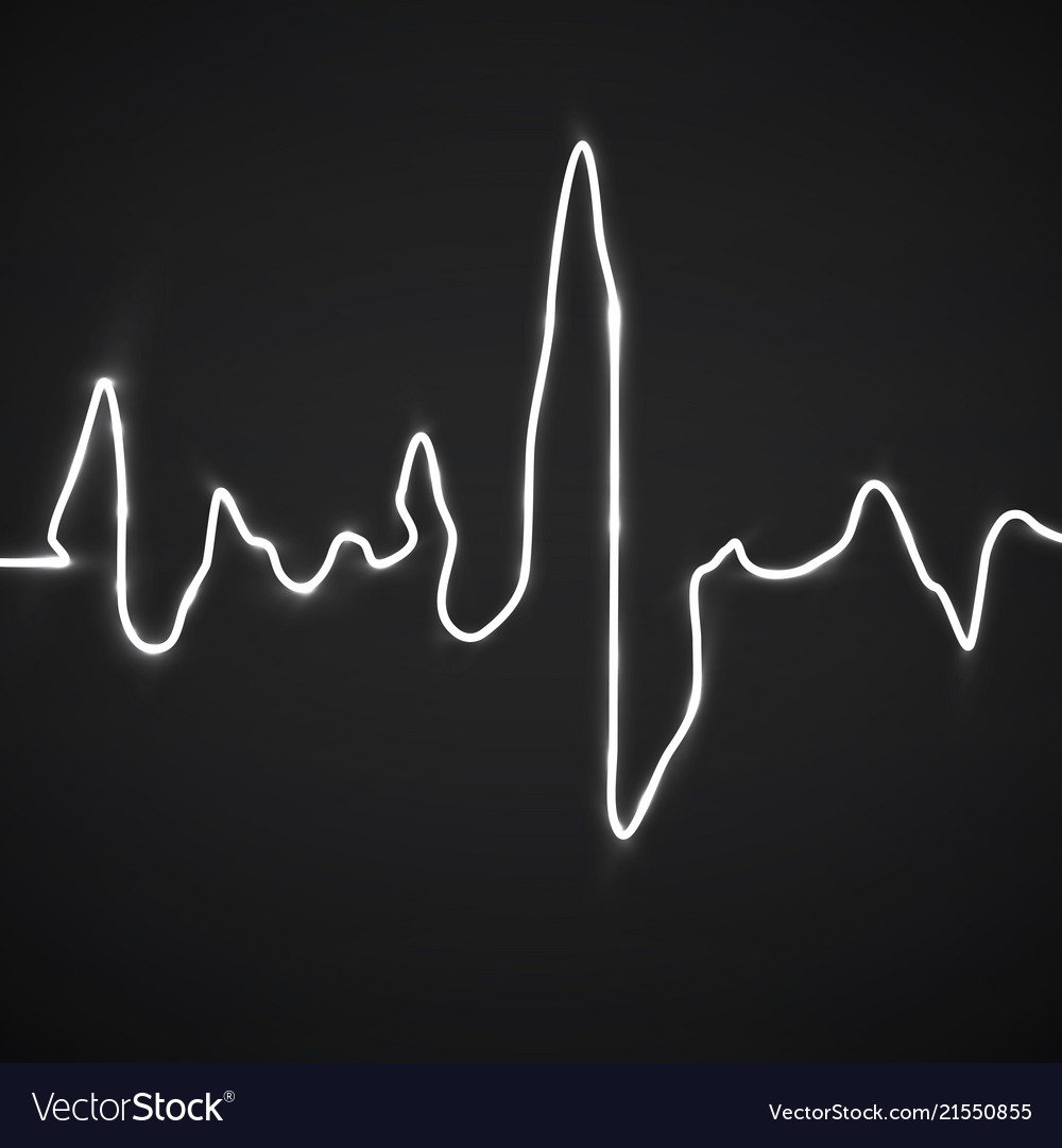 Abstract heart beats cardiogram background