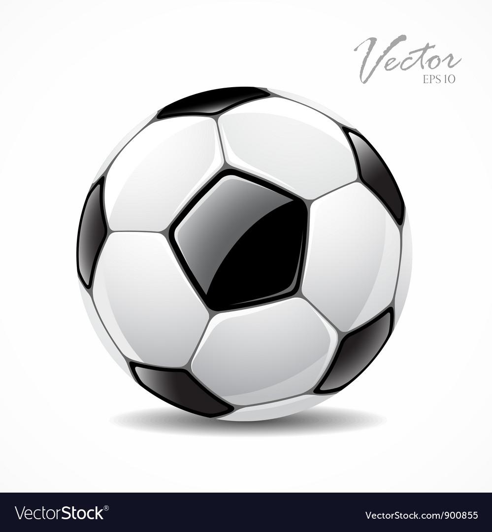 Soccer ball sport football game