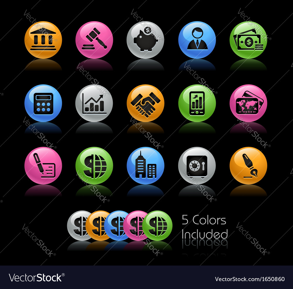 Business Finance vector image