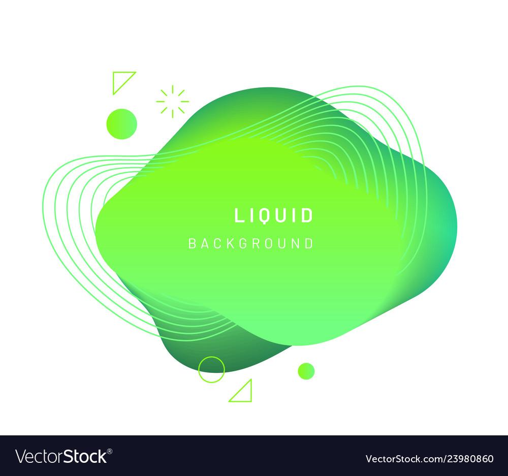 Dynamic light on fluid blotch