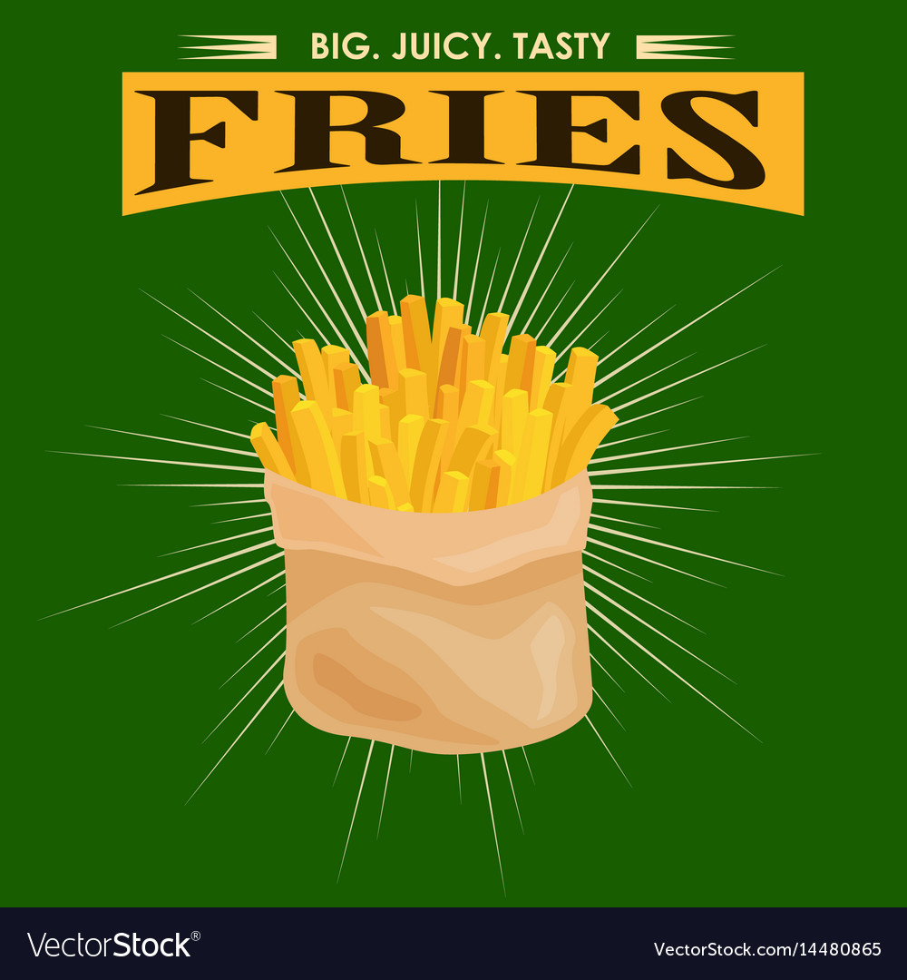 French fries unhealthy fast food snack potato