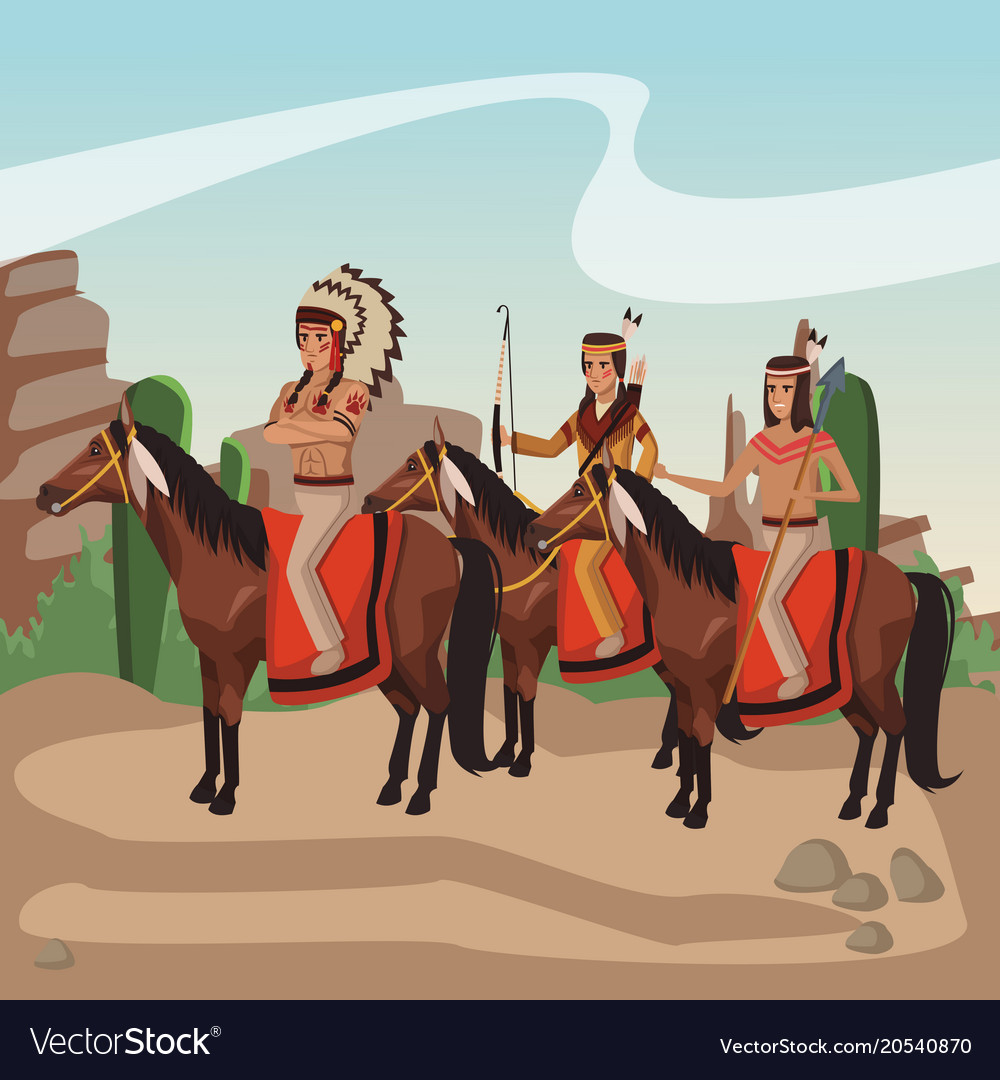 American indian warriors tribe