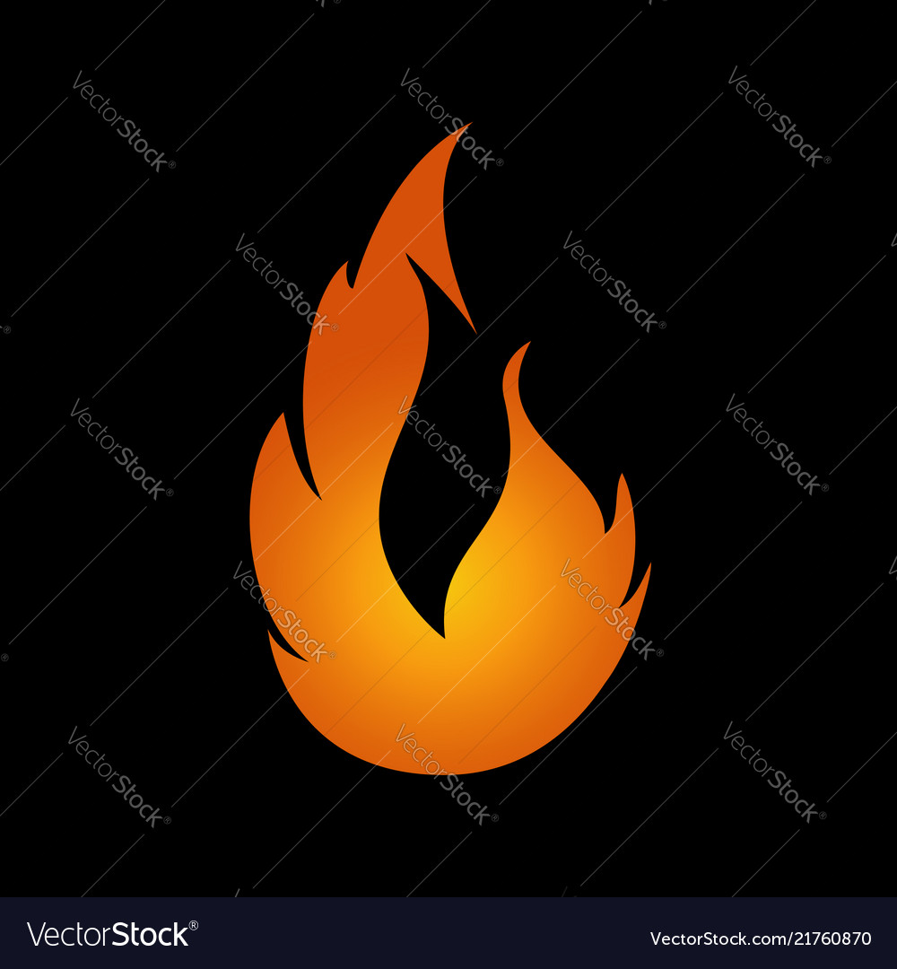 Flame logo fire icon fire flame logo design