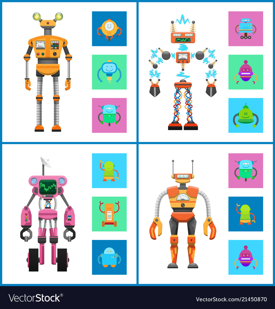 Robot and mechanisms set