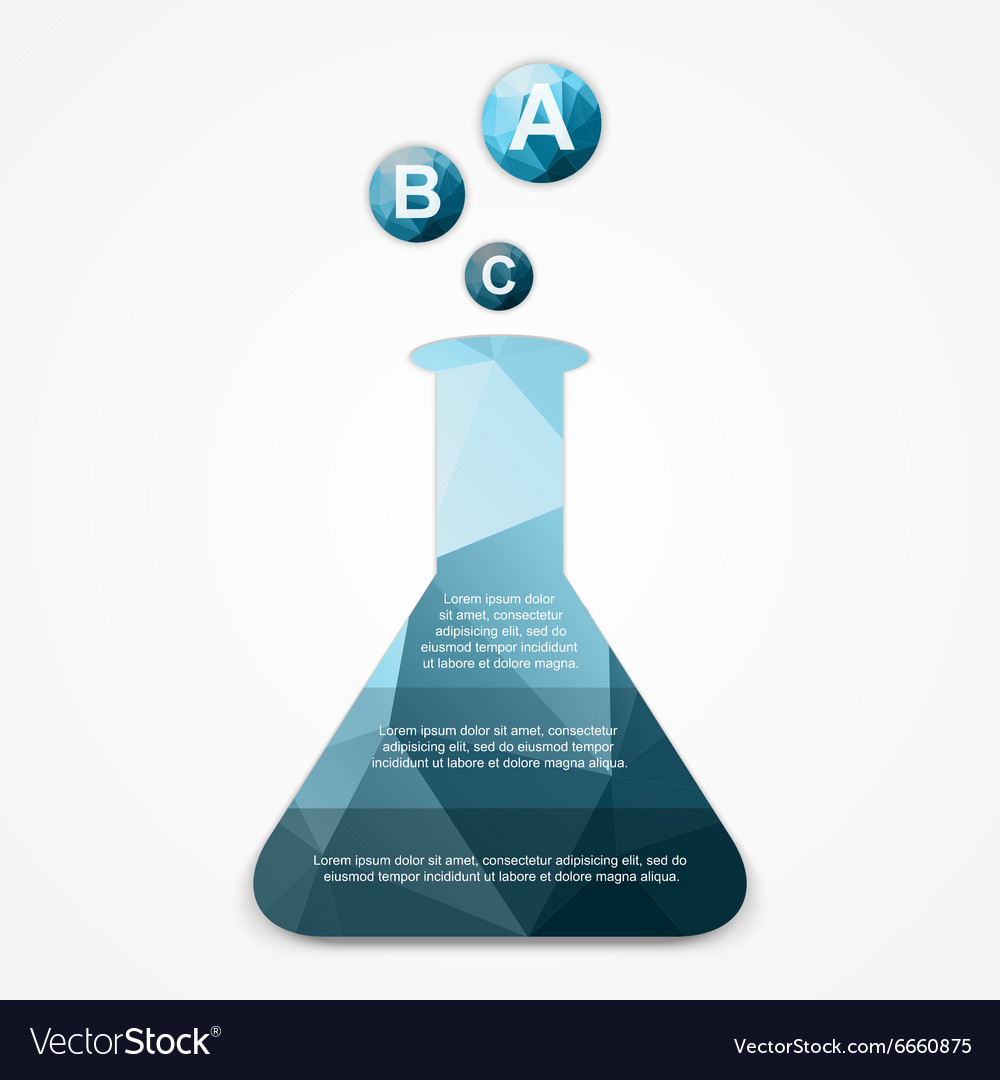 Business Infographics scientific style can