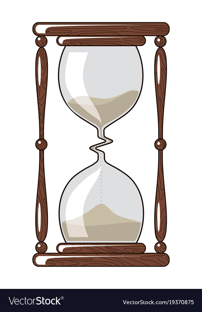 Hourglass slowing down time