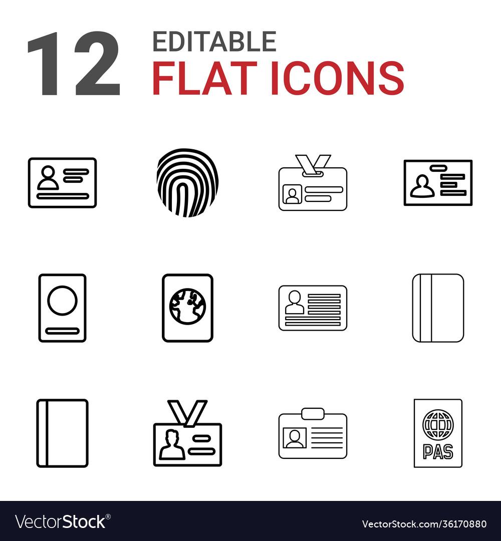 12 id icons