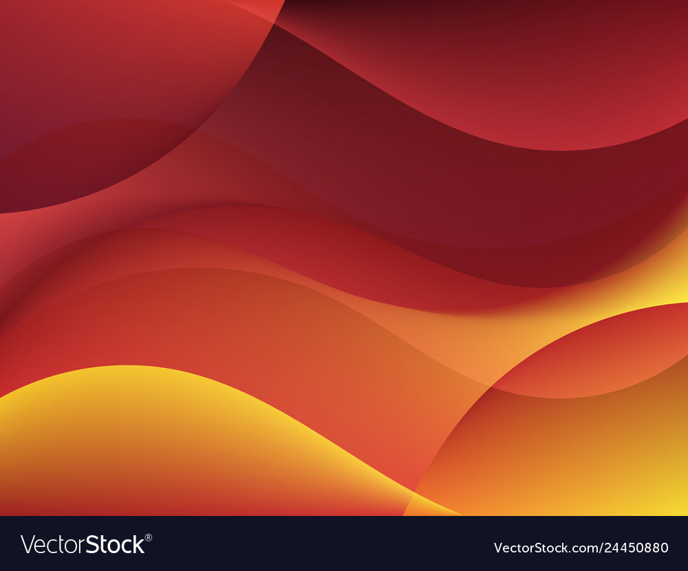 Dynamic textured background with orange waves