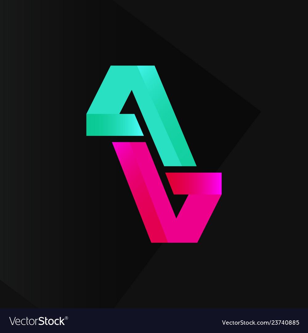 Abstract cool modern logo