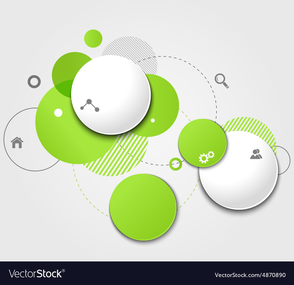 Modern Design Circle template