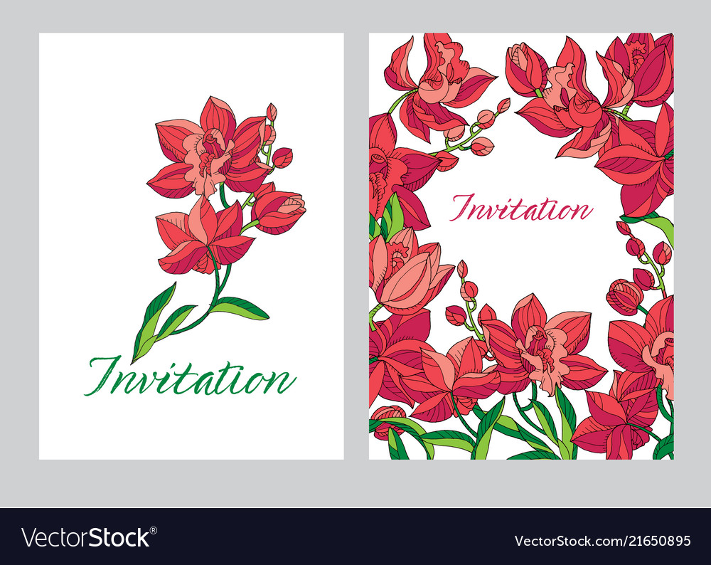 Purple, Orchid, Flower & Banner Vector Images (87)