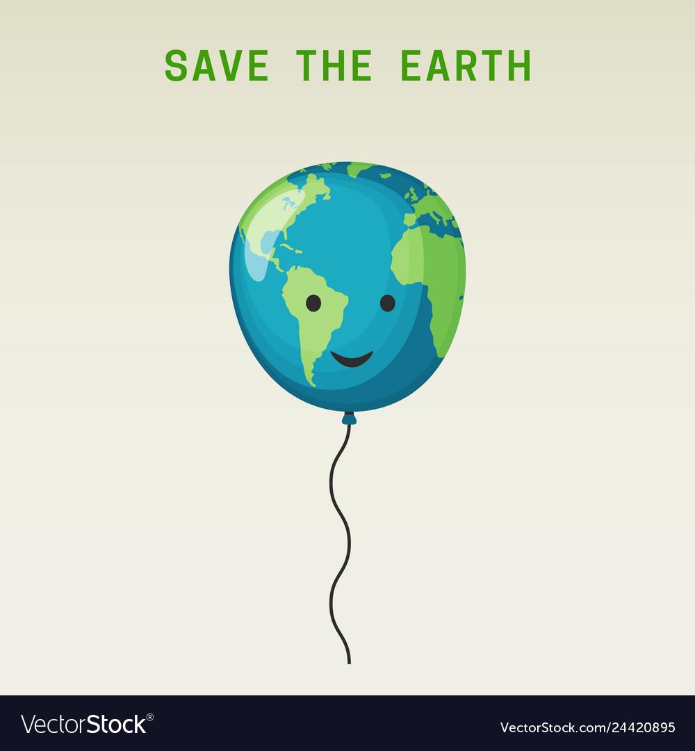 The earth balloon