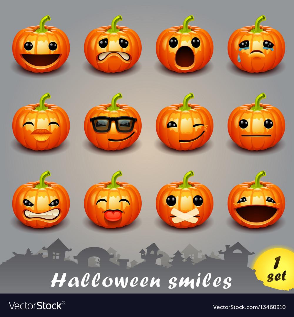 Halloween smiles-set 1
