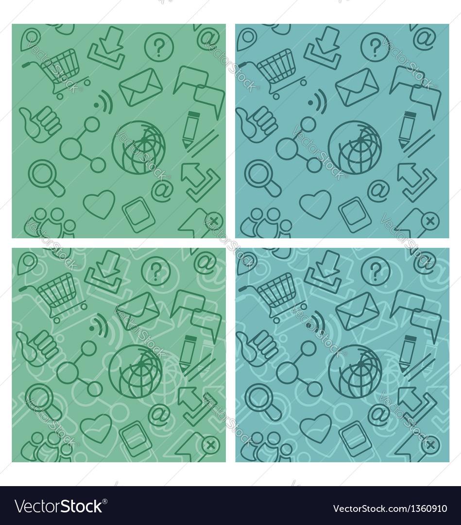 Internet Communication Patterns