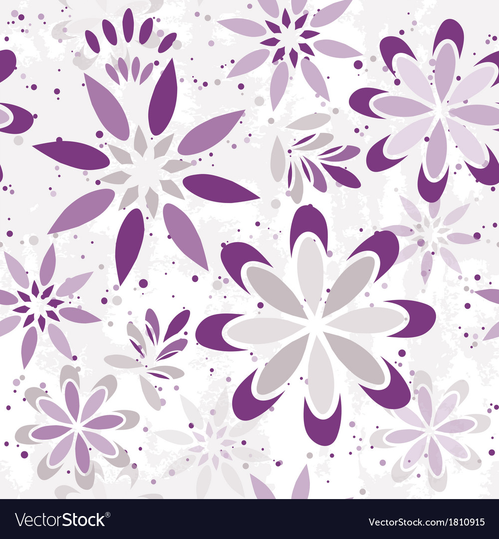 Seamless floral graphic pattern