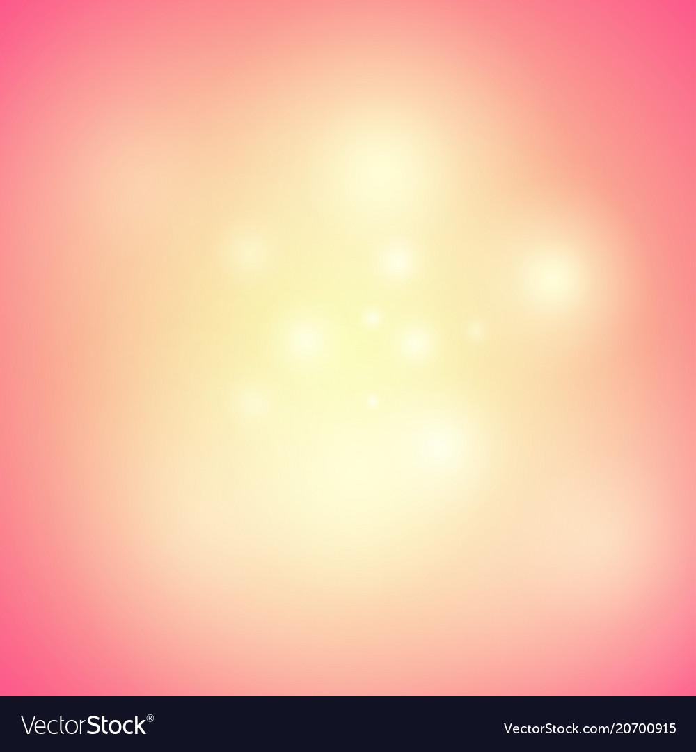Warm orange background with glow shine and