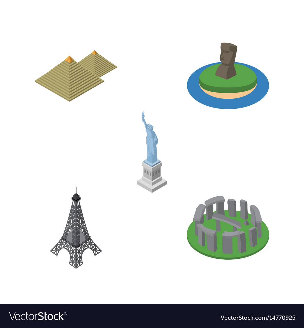 Isometric attraction set of new york egypt chile