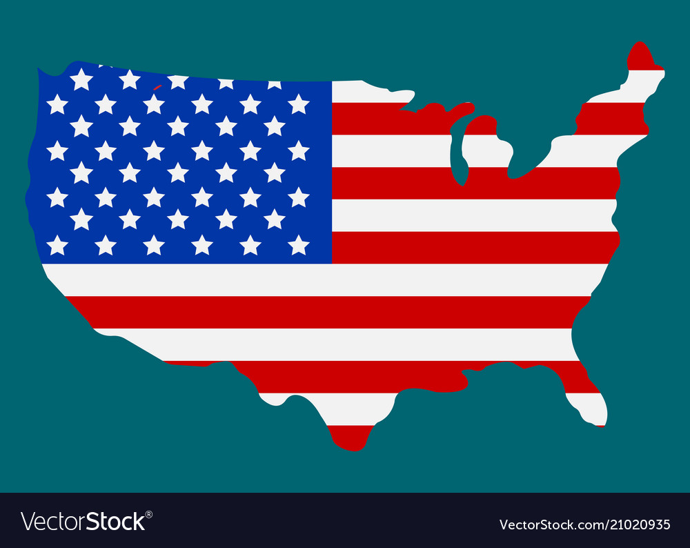 American flag icon happy 4 th july and