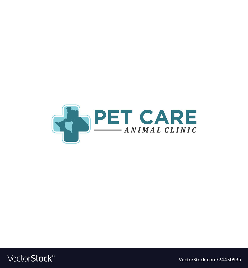 Pet care abstract logo