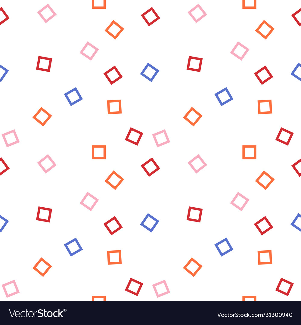Graphic color squares abstract background design