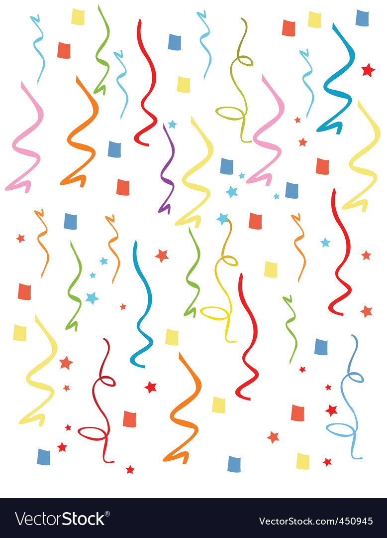 confetti royalty free vector image vectorstock rh vectorstock com confetti vector freepik vector confetti background